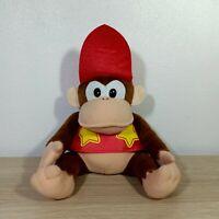 "Takara Japan Diddy Kong Super Donkey Kong Country 2 DK Plush Toy Doll 7"""