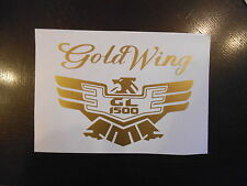 2 x Honda Goldwing GL1500 decals/stickers