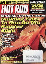 Hot Rod Magazine August 1996 Coolest Camaro's  / 21st Century Hot Rods