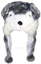 Best Winter Hats Adult/Teen Animal Character Ear Flap Hat #748 Wolf