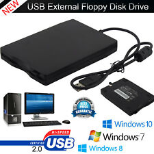 3.5″ Portable USB 2.0 External Floppy Disk Drive 1.44MB For Laptop PC Win 7/8/10