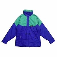 Berghaus Quilted Gore Tex Coat Jacket | Vintage 90s Outdoors Wear Sports Green