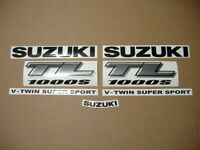 TL 1000S 1999 complete decals stickers graphics kit set autocollant emblems tls