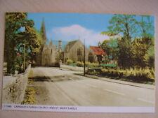 Postcard. CARNWATH PARISH CHURCH & ST. MARY'S AISLE. Unused. Standard size.