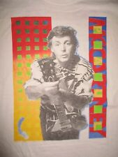 1989-90 Brockum Label PAUL McCARTNEY World Concert Tour (XL) T-Shirt BEATLES