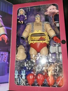 NECA TEENAGE MUTANT NINJA TURTLES TMNT THE WRATH OF KRANG target, hand damaged.