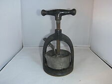Antique Cast Iron Juice Press by Landers Frary & Clark Columbia Meat Press USA