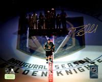Deryk Engelland Autographed Vegas Golden Knights 8x10 Photo Speech 10/10/17 COA