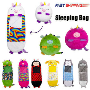 Large Happy Nappers Sleeping Bag Kid's Play Pillow Warm Boys Girls Gifts