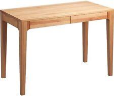 Schreibtisch Bürotisch - LEGANES - Tisch 110 x 55 cm Kernbuche massiv geölt
