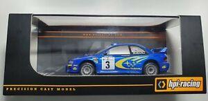 HPI 8581 SUBARU IMPREZA WRC 99 #3 R.BURNS RALLY SAFARI 2000 1/43 **RARE**