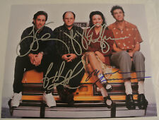 SEINFELD TV Show Cast AUTOGRAPHED Photograph Jerry Julia Louis-Dreyfus Richards