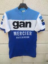 Maillot cycliste GAN MERCIER HUTCHINSON vintage Tour 1972 POULIDOR jersey shirt