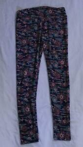 LuLaRoe Women's Disney Minnie Mouse Floral Leggings SV3 Pink Tall & Curvy