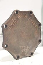 "Tyler Union 10"" Cast Iron Valve 8-Hole Heavy Duty Lid Cover Cap 350 DI C153"
