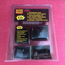 RECHARGEABLE NICAD BATTERY PACKwith QUICK CHARGER TONKA RC for radio control