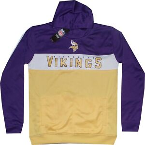 Minnesota Vikings Youth Performance Level Hoodie Sweatshirt Youth 8-20