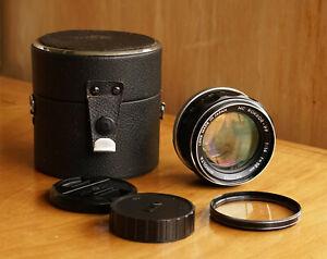 Minolta 50mm f/1.4 MC Rokkor PF Prime Lens Minolta MC ..Excellent Condition..