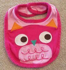 DARLING! BABIES R US ORGANIC OWL BABY BIB REBORN