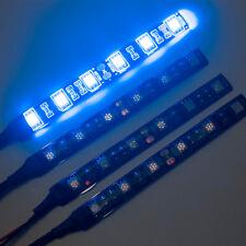 4 X 10 cm 5050 SMD 6 LED Strip Light for Car Caravan Boat SWB Van 12V Blue