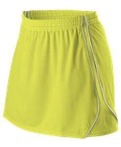 BRINE Womens Lacrosse Kilt Style# F309W Size M - Yellow