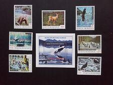 1992 - Romania - Fauna of the Northern Regions , Mi.4836 - 4842, Bk.278,  MNH