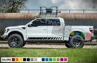 Sticker Vinyl Side Stripes for Nissan Titan leaf 2010 2016 2017 2018 kit spring
