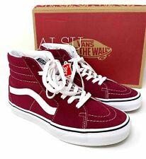 Sneakers Men's VANS SK8-HI Suede Canvas Rumba Red Size 12 VN0A38GEVG4