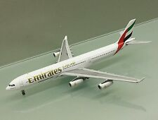 Gemini Jets 1/400 Emirates Airbus A340-300 A6-ERM die cast metal model