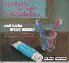Axel Hacke, Ursula Mauder – Das Beste Aus Meinem Liebesleben CD Digipak