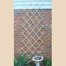 Bosmere L565 Expanding Bamboo Trellis Fence 6ft X 4ft for Vining Plants Garden