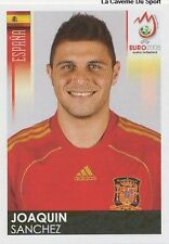 N°429 VIGNETTE PANINI JOAQUIN SANCHEZ ESPANA SPAIN EURO 2008 STICKER