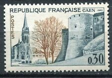 STAMP / TIMBRE FRANCE NEUF LUXE °° N° 1389 ** SOCIETE PHILATELIQUE A CAEN