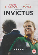 INVICTUS - Morgan Freeman, Matt Damon. Directed by Clint Eastwood (DVD 2009)