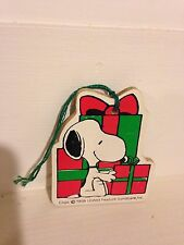 1958 United Feature Syndicate Inc.Snoopy Christmas Ornament