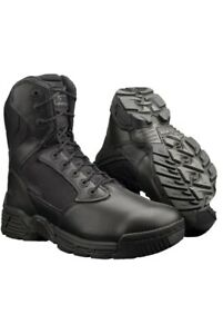 """Magnum Mens Stealth Force 8"""" Side Zip Soft Toe Tactical Boots Size US 11"""