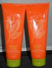 California Mango Mend Treatment Balm 8oz (2 pack) Cures Cracked Heels!