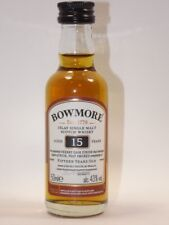 Whisky ISLAY BOWMORE 15 Sherry Cask 50 ML 43% MINI BOTTIGLIA BOTTLE miniature