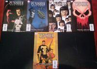 Punisher-War Zone-Garth Ennis/steve dillion 1,2,3,4,6(marvel)