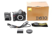 Nikon D610 24.3MP FX Digital SLR Camera Body Only Shutter Count: 900 From JPN728