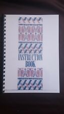 Brother Knitting Machine KH 965 Instruction manual quality printing spiral bound