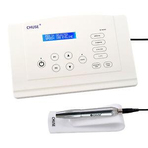CHUSE C5 Pro Semi Permanent Makeup Machine Pen Kit Digital Rotary Tattoo Gun Set