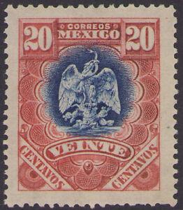 dc51 Mexico #300 20ctv Mint Light Hinged est $5-10 Extra Fine Beauty