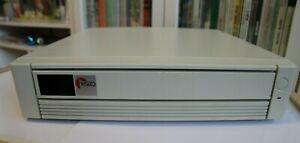 Vintage retro DOS gaming computer -  PC Intel i386SX 33MHz - pizzabox format