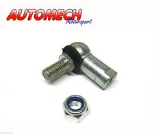 Linkage Ball Joint, Clip & Nut M8x1.25 LH Thread, Zinc Plated. (951/8LH)