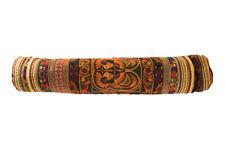 Handmade Fabric Gold Yoga Mat Bag Accessory Carrier Gym Tribal Art Thai Craft