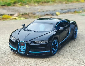 1:32 Scale Diecast Alloy Sound&Light Car Model Kids Toy Gift ForBUGATTI Chiron