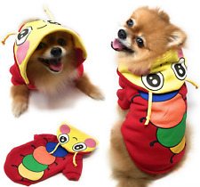 Pet Dog Fleece Harness Vest Shirt Puppy Warm Hoodie Sweater Coat Jacket Apparel