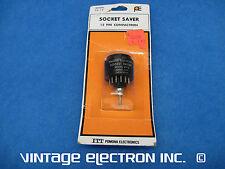 Nos Itt Pomona Electronics - 12 Pin Compactron Tube Socket Saver - Model Ss-12
