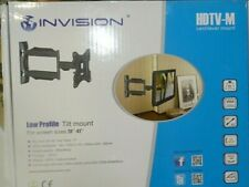 Invision Ultra Slim TV Wall Mount Bracket Cantilever Mount 26''- 42''